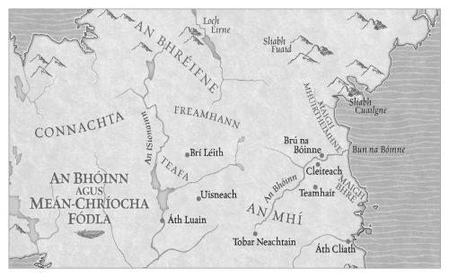 Éadaoin map léarscáil